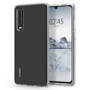 Durable and lightweight, the Spigen Liquid Crystal series for the Huawei P30 offers premium protection in a slim, stylish package. Carefully designed, the Liquid Crystal case is form-fitted for a perfect fit..