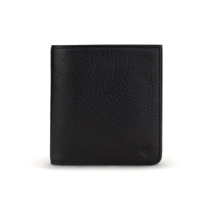 Get yourself a brand new stylish Hifold Coin wallet for all your practical uses, store your cards in style. The sleek black finished wallet allows you to have a slim and practical wallet for cards, cash and coins.