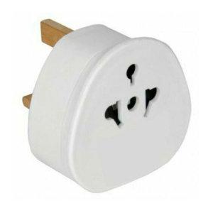 Travel Adapter UK to AUS (3 - 2 Pin) - White