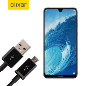 This 1 meter data / charging cable from Olixar allows you to connect your Huawei Honor 8X Max to a PC via Micro USB. It supports charging currents over 2 amps, so your Honor 8X Max can be up and running from flat in no time.