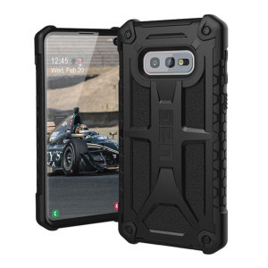 The Urban Armour Gear Monarch in black for the Samsung Galaxy S10e is quite possibly the king of protective cases. With 5 layers of premium protection and the finest materials, your Galaxy S10e is safe, secure and in some style too.