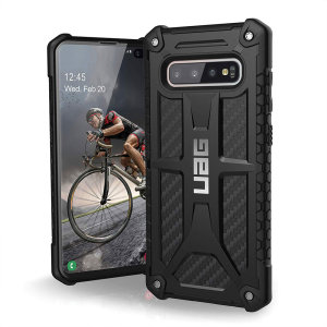 The Urban Armour Gear Monarch in Carbon Fiber for the Samsung Galaxy S10 Plus is quite possibly the king of protective cases. With 5 layers of premium protection and the finest materials, your Galaxy S10 Plus is safe, secure and in some style too.
