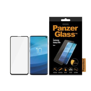 Introducing the premium range PanzerGlass Glass Case Friendly screen protector. Designed to be shock and scratch resistant, PanzerGlass offers the ultimate protection for your stunning Samsung Galaxy S10e