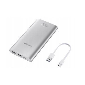 This official 1000mAh battery pack from Samsung in silver is the perfect way to keep your devices charged while out and about. Extremely lightweight and completely universal, this really is the ideal travel companion for you and your gadgets.