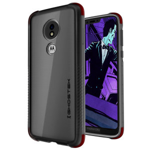 Custom molded for the Covert3 G7 Power, Ghostek tough case provides a slim fitting, stylish design and reinforced corner protection against shock damage, keeping your device looking great at all times.