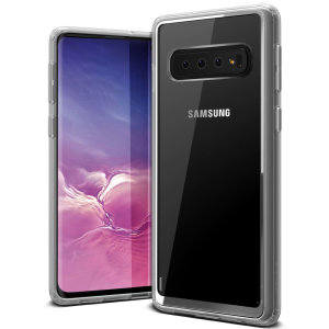 Protect your Samsung Galaxy S10 with this precisely designed clear case from VRS Design. Made with a sturdy yet minimalist design, this see-through case offers protection for your phone while still revealing the beauty within.