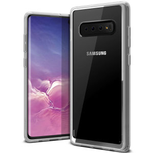 Protect your Samsung Galaxy S10 Plus with this precisely designed clear case from VRS Design. Made with a sturdy yet minimalist design, this see-through case offers protection for your phone while still revealing the beauty within.