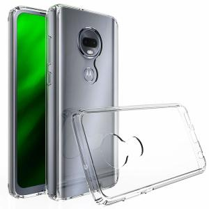 Custom moulded for the Motorola Moto G7, this crystal clear Olixar ExoShield tough case provides a slim fitting, stylish design and reinforced corner protection against shock damage, keeping your device looking great at all times.