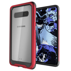 Equip your new Samsung Galaxy S10 Plus with the most extreme and durable protection around! The red Ghostek Atomic provides rugged drop and scratch protection whilst keeping the phone slim.