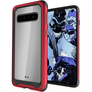 Equip your new Samsung Galaxy S10 with the most extreme and durable protection around! The Red Ghostek Atomic provides rugged drop and scratch protection whilst keeping the phone slim.
