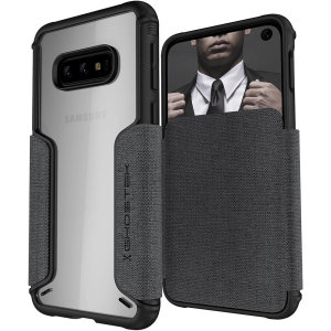 The Exec3 premium wallet case in grey provides your Samsung Galaxy S10e with fantastic protection. Also featuring storage slots for your credit cards, ID and cash.