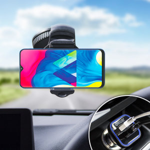 Hold your phone safely in your car with this fully adjustable DriveTime car holder for your Samsung Galaxy M10.