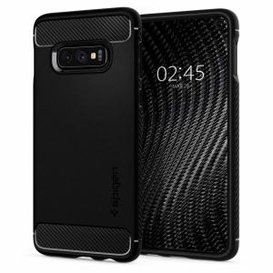Meet the newly designed rugged armor case for the Samsung Galaxy S10e. Made from flexible, rugged TPU and featuring a mechanical design, including a carbon fibre texture, the rugged armor tough case in black keeps your phone safe and slim.