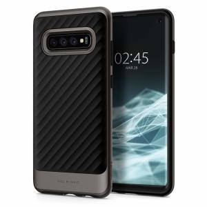 The Spigen Neo Hybrid in gunmetal grey is the new leader in lightweight protective cases. The new Air Cushion Technology corners reduce the thickness of the case while providing optimal protection for your Samsung Galaxy S10.