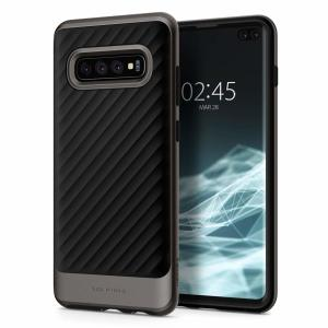 The Spigen Neo Hybrid in gunmetal grey is the new leader in lightweight protective cases. The new Air Cushion Technology corners reduce the thickness of the case while providing optimal protection for your Samsung Galaxy S10 Plus.