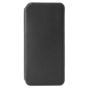 Krusell's Pixbo 4 Card Slim Wallet vegan leather case in black combines Nordic chic with Krusell's values of sustainable manufacturing for the socially-aware Huawei P30 Lite owner who seeks 360° protection with extra storage for cash and cards.