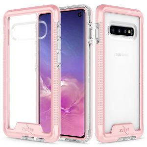 La funda protectora Zizo Ion Series para el Samsung Galaxy S10 proporciona protección y diseño en un mismo formato.