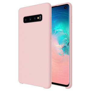 Custom moulded for the Samsung Galaxy S10, this pastel pink soft silicone case from Olixar provides excellent protection against damage as well as a slimline fit for added convenience.