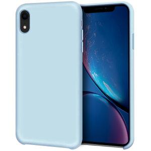 Diese pastellblaue, weiche Silikonhülle von Olixar wurde speziell für das iPhone XR entwickelt und bietet hervorragenden Schutz vor Beschädigungen sowie eine schlanke Passform für zusätzlichen Komfort.
