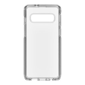 The dual-material construction makes the Symmetry clear case for the Samsung Galaxy S10 one of the slimmest yet most protective case in its class. The Symmetry series has the style you want with the protection your phone needs.