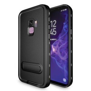 All round rugged protection for your Samsung Galaxy S9 with the Terra 360 protective case from Olixar. Featuring a dual layer shock resistant design and a built in screen protector, to prevent damage from water, dust, dirt and snow.
