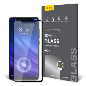 This ultra-thin tempered glass screen protector for the Xiaomi Mi 8 Pro from Olixar offers toughness, high visibility and sensitivity all in one package.