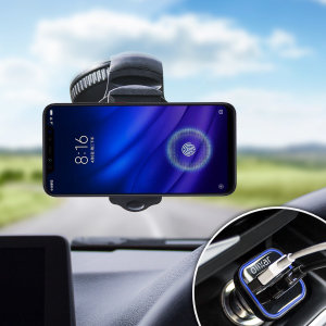 Essential items you need for your smartphone during a car journey all within the Olixar DriveTime In-Car Pack. Featuring a robust one-handed phone car mount and car charger with an additional USB port for your Xiaomi Mi 8 Pro.
