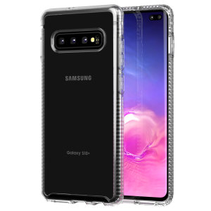 Tech21 Pure Clear case lets you flaunt the natural beauty of your Samsung Galaxy S10 Plus, whilst keeping it well protected from scratches, bumps and drops of up to 10ft. It also offers an ulta-thin and lightweight design, which looks good in any setting.