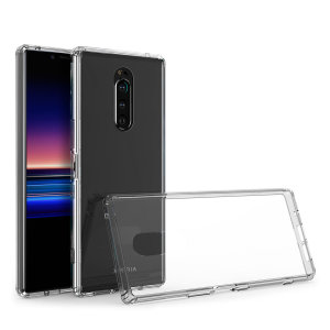 Olixar ExoShield Tough Snap-on Sony Xperia 1 Case - Clear