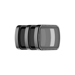 The PolarPro Osmo Pocket Standard Series Pack contains three filters that are designed to control Osmo Pocker's shutter speed in different lighting conditions. The magnetic design allows for a quick and easy installation. Includes ND4, ND8, and ND32