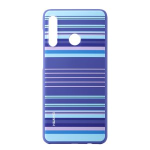 This official Huawei protective case for the Huawei P30 lite offers excellent protection while maintaining your device's sleek, elegant lines. Don't hide away the beautiful appearance of your new P30 Lite with this well-fitted blue Striped case.