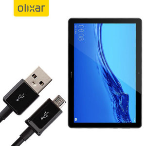 This 1 meter data / charging cable from Olixar allows you to connect your Huawei MediaPad T5 to a PC via Micro USB. It supports charging currents over 2 amps, so your Huawei MediaPad T5 can be up and running from flat in no time.