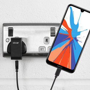 Charge your Huawei Y7 Prime quickly and conveniently with this compatible 2.5A high power charging kit. Featuring mains adapter and USB cable.