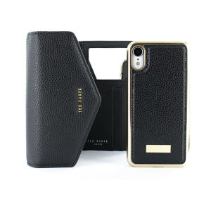 This luxury Ted Baker Selie iPhone XR Crossbody  Case with a shoulder chain is a beautiful and a practical case and purse in one. The envelope design includes magnetic iPhone case, space for cards, coin and a mirror.Making it a perfect accessory on the go