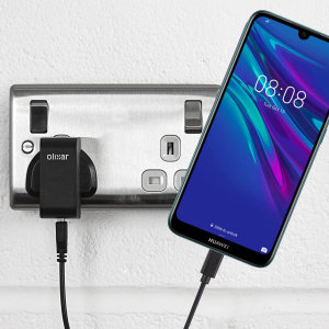 Charge your Huawei Y6 Pr0 2019 quickly and conveniently with this compatible 2.5A high power charging kit. Featuring mains adapter and USB cable.