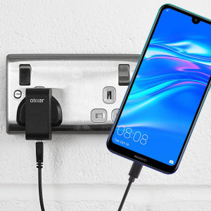 Charge your Huawei Y7 Pro 2019 quickly and conveniently with this compatible 2.5A high power charging kit. Featuring mains adapter and USB cable.