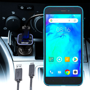 Keep your Xiaomi Redmi Go fully charged on the road with this compatible Olixar high power dual USB 3.1A Car Charger with an included high quality USB to Micro-USB charging cable.