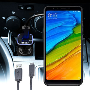 Keep your Xiaomi Mi A2 fully charged on the road with this compatible Olixar high power dual USB 3.1A Car Charger with an included high quality  1m USB to USB-C charging cable.