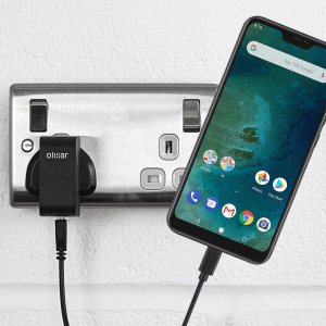 Charge your Xiaomi Mi A2 Lite quickly and conveniently with this compatible 2.5A high power charging kit. Featuring mains adapter and USB cable.
