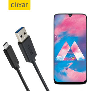 Make sure your Samsung Galaxy M30 is always fully charged and synced with this compatible USB 3.1 Type-C Male To USB 3.0 Male Cable. You can use this cable with a USB wall charger or through your desktop or laptop.