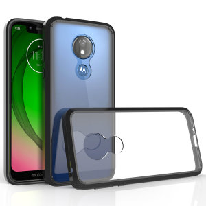 Custom moulded for the Motorola Moto G7 Play Case, this crystal clear Olixar ExoShield tough case provides a slim fitting, stylish design and reinforced corner protection against shock damage, keeping your device looking great at all times.