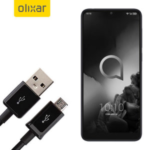 This 1 meter data / charging cable from Olixar allows you to connect your Alcatel 3L to a PC via Micro USB. It supports charging currents over 2 amps, so your Alcatel 3L can be up and running from flat in no time.