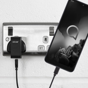 Charge your Alcatel 3L quickly and conveniently with this compatible 2.5A high power charging kit. Featuring mains adapter and USB cable.