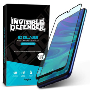 Optically enhanced high definition glass screen protectors for the Huawei P Smart 2019. Features true touch properties and extended coverage.
