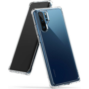 Protect your shiny new Huawei P30 Pro with this Rearth Ringke Fusion Dual Layer bumper case. The clear design will perfectly highlight the contours of the Huawei P30 Pro, whilst keeping it protected from bumps and scratches at all times.