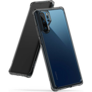 Protect your shiny new Huawei P30 Pro with this Rearth Ringke Fusion Dual Layer bumper case. The smoke black design will perfectly highlight the contours of the Huawei P30 Pro, whilst keeping it protected from bumps and scratches at all times.