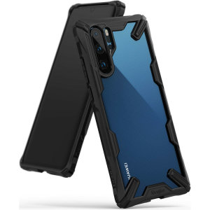 Keep your Huawei P30 Pro protected from bumps and drops with the Rearth Ringke Fusion X tough case in black. Featuring a 2-part, Polycarbonate design, this case lives up to military drop test standards so you can rest assured that your device is safe
