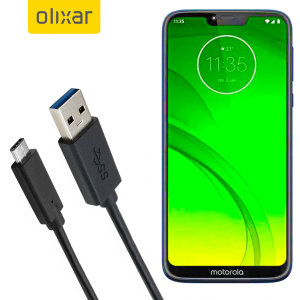 Make sure your Motorola Moto G7 Power is always fully charged and synced with this compatible USB 3.1 Type-C Male To USB 3.0 Male Cable. You can use this cable with a USB wall charger or through your desktop or laptop.