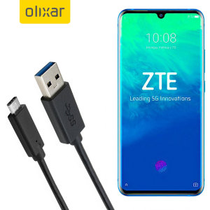 Make sure your ZTE Axon 10 Pro 5G is always fully charged and synced with this compatible USB 3.1 Type-C Male To USB 3.0 Male Cable. You can use this cable with a USB wall charger or through your desktop or laptop.