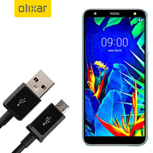 This 1 meter data / charging cable from Olixar allows you to connect your LG K40 to a PC via Micro USB. It supports charging currents over 2 amps, so your LG K40 can be up and running from flat in no time.